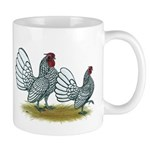 Sebright Silver Bantams Mug