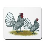 Sebright Silver Bantams Mousepad