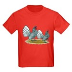 Sebright Silver Bantams Kids Dark T-Shirt
