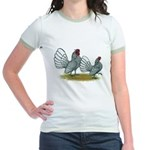 Sebright Silver Bantams Jr. Ringer T-Shirt