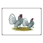 Sebright Silver Bantams Banner