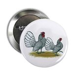 "Sebright Silver Bantams 2.25"" Button (100 pac"