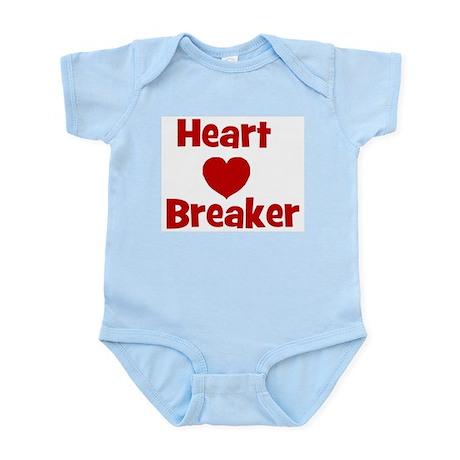 Heart Breaker with heart Infant Creeper