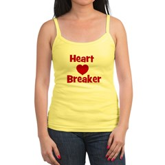 Heart Breaker with heart Jr. Spaghetti Tank