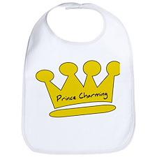 Prince Charming (Gold Crown) Bib