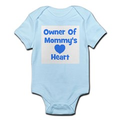 Ownder of Mommy's Heart Infant Creeper
