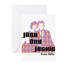 Jack and Jackie Totally BFFs Greeting Cards (Pk of