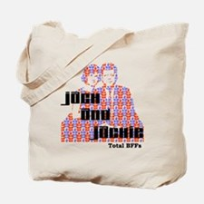 Jack and Jackie Totally BFFs Tote Bag