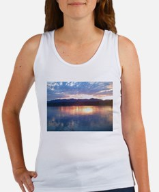 sunlight reflections on the c Women's Tank Top