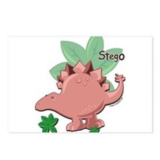 Stegosaurus Dinosaur Postcards (Package of 8)