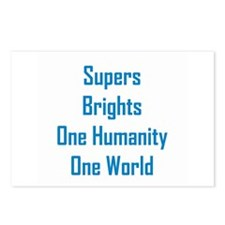 Supers/Brights Postcards (Package of 8)