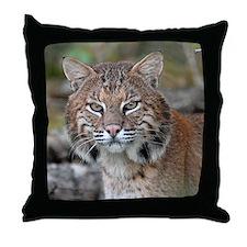 Maine Bobcat Throw Pillow