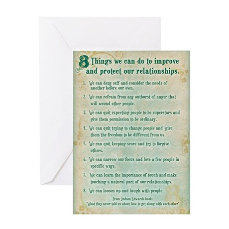 8 thing to do to protect rela Greeting Card