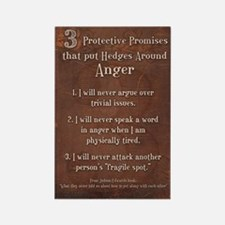3 protective promises Rectangle Magnet