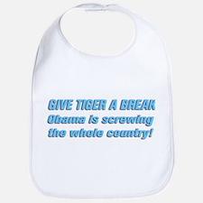 Give Tiger A Brake ... Bib