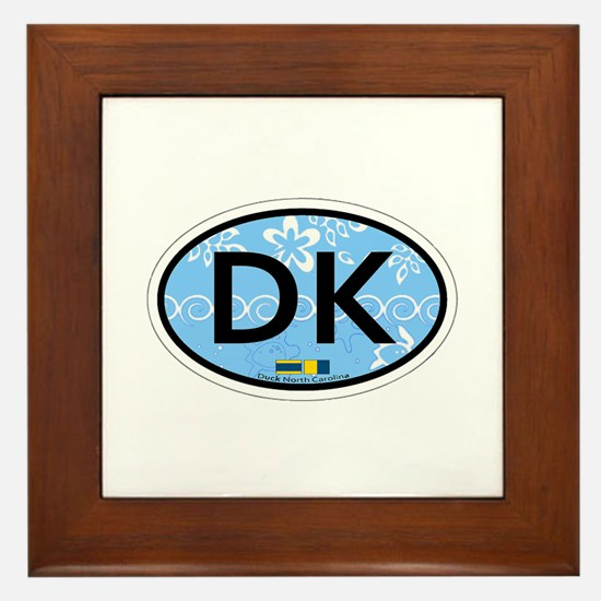 Duck NC - Oval Design Framed Tile