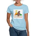Shit Happens Women's Light T-Shirt