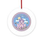 Princess Castle Ornament (Round)
