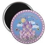 Princess Castle Magnet