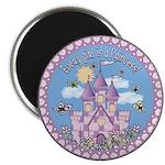 "Princess Castle 2.25"" Magnet (10 pack)"