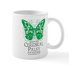 Cerebral Palsy Butterfly 2 Small Mug