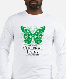 Cerebral Palsy Butterfly 2 Long Sleeve T-Shirt