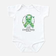 Cerebral Palsy Ribbon of Butt Infant Bodysuit