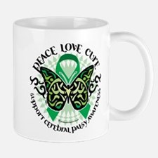 Cerebral Palsy Tribal Butterf Small Small Mug