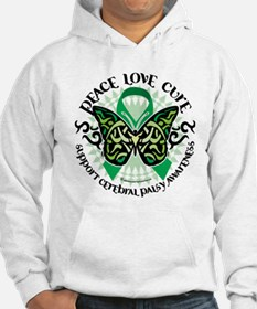 Cerebral Palsy Tribal Butterf Hoodie