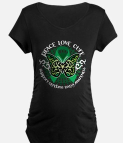Cerebral Palsy Tribal Butterf T-Shirt