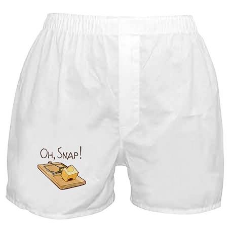 """""""Oh, Snap!"""" Boxer Shorts"""