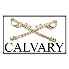 CALVARY Swords Rectangel Decal