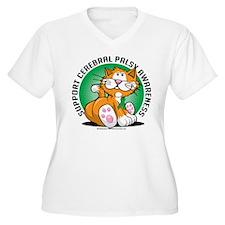 Cerebral Palsy Cat T-Shirt