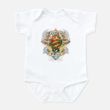 Cerebral Palsy Cross & Heart Infant Bodysuit