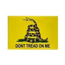 Gadsden Flag (Rectangle Magnet)