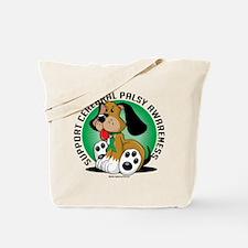 Cerebral Palsy Dog Tote Bag