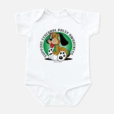 Cerebral Palsy Dog Infant Bodysuit