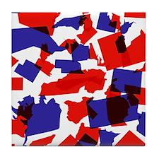 No Longer United States Tile Coaster