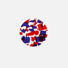 No Longer United States Mini Button