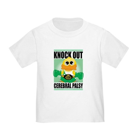 Knock Out Cerebral Palsy Toddler T-Shirt