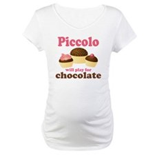 Funny Chocolate Piccolo Shirt