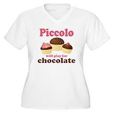 Funny Chocolate Piccolo T-Shirt