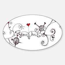 Knit Art Stickers