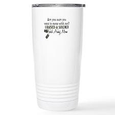 Raised a Soldier - Mom Travel Mug