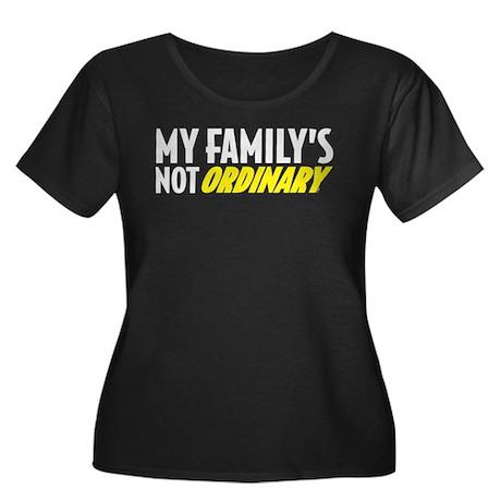 My Family Women's Plus Size Dark T-Shirt