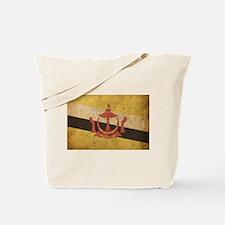 Vintage Brunei Tote Bag