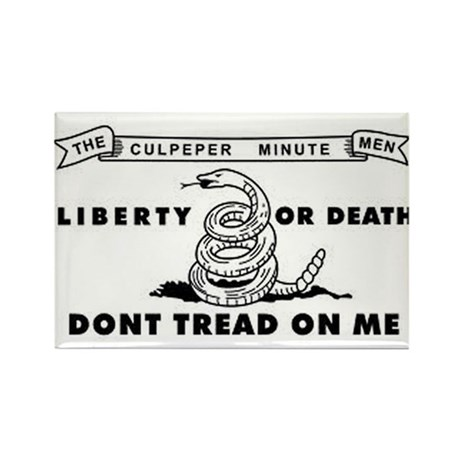 Culpeper Flag Rectangle Magnet