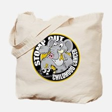 Stomp Out Childhood Cancer Tote Bag