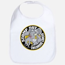 Stomp Out Childhood Cancer Bib