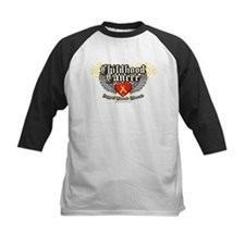 Childhood Cancer Wings7 Tee
